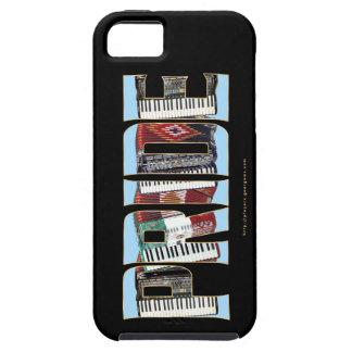ORGULLO del acordeón iPhone 5 Carcasas