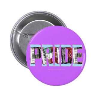 Orgullo del acordeón pins