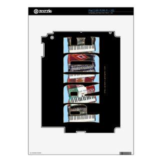 ORGULLO del acordeón iPad 2 Skins