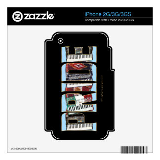 ORGULLO del acordeón iPhone 3GS Skin
