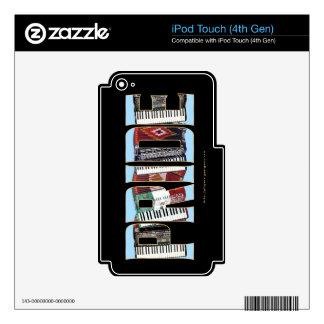 ORGULLO del acordeón iPod Touch 4G Skin