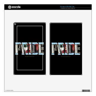 ORGULLO del acordeón Pegatina Skin Para Kindle Fire