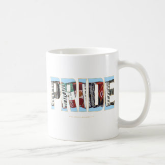 Orgullo del acordeón taza de café