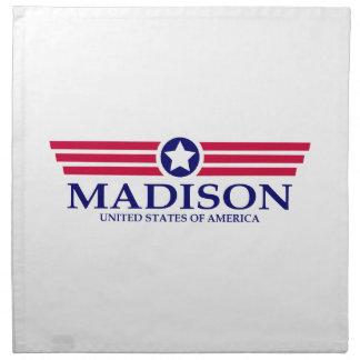 Orgullo del AL de Madison Servilleta