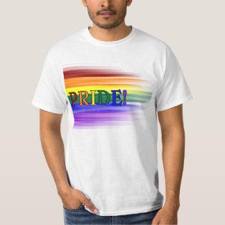 ¡Orgullo del arco iris! Camisetas para hombre Poleras