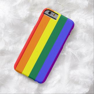 ORGULLO DEL ARCO IRIS. CASO DEL ORGULLO GAY IPHONE FUNDA DE iPhone 6 BARELY THERE