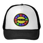 Orgullo del arco iris gorras de camionero