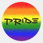 Orgullo del arco iris pegatinas