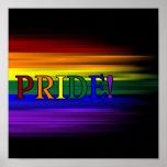 ¡Orgullo del arco iris! Poster