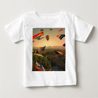 Orgullo del arco iris sobre el valle de Sonoma Playeras