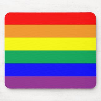 Orgullo del arco iris tapetes de raton