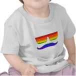 Orgullo del bigote camisetas