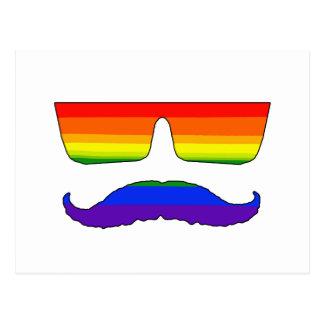 Orgullo del bigote postal