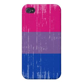 Orgullo del Bisexual del vintage iPhone 4 Protector
