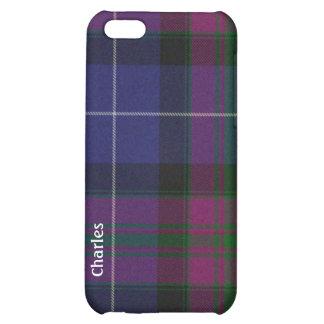 Orgullo del caso del iPhone 5 de la tela escocesa