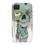 Orgullo del cazador del zombi vibe iPhone 4 carcasa
