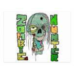 Orgullo del cazador del zombi postales