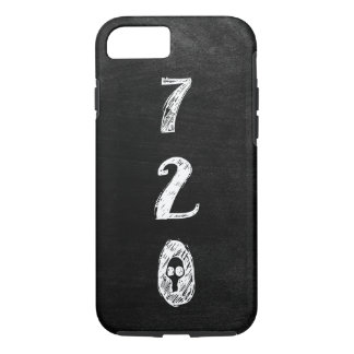 Orgullo del código de área 720, gótico, Grunge, Funda iPhone 7