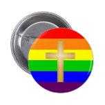 Orgullo del cristiano de GLBT Pins