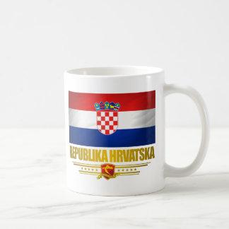 Orgullo del croata taza