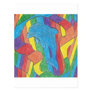 Orgullo del delfín tarjetas postales