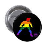 Orgullo del fútbol de GLBT Pins