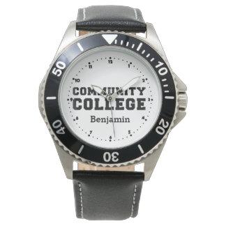 Orgullo del Instituto de Enseñanza Superior Reloj De Mano