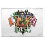 Orgullo del irlandés de Atlanta Mantel Individual