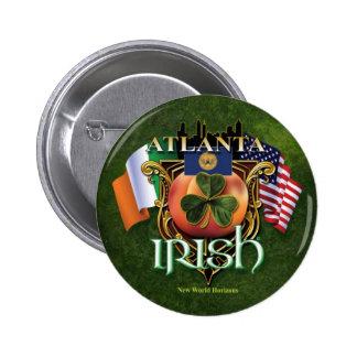 Orgullo del irlandés de Atlanta Pin