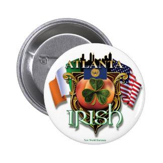 Orgullo del irlandés de Atlanta Pins