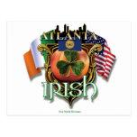 Orgullo del irlandés de Atlanta Postales