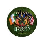 Orgullo del irlandés de Atlanta Reloj