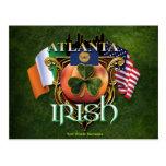 Orgullo del irlandés de Atlanta Tarjetas Postales