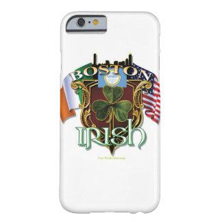 Orgullo del irlandés de Boston Funda De iPhone 6 Barely There