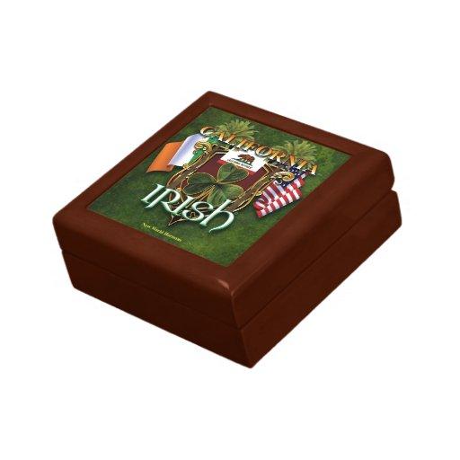 Orgullo del irlandés de California Caja De Regalo