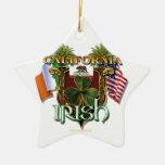 Orgullo del irlandés de California Ornamento Para Reyes Magos