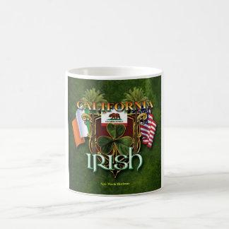 Orgullo del irlandés de California Taza De Café