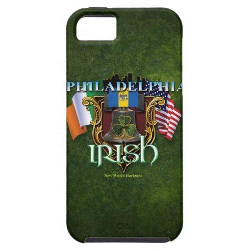 Orgullo del irlandés de Philadelphia iPhone 5 Case-Mate Fundas