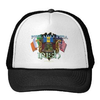 Orgullo del irlandés de Philadelphia Gorros Bordados