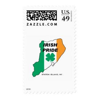 Orgullo del irlandés de Staten Island Sello