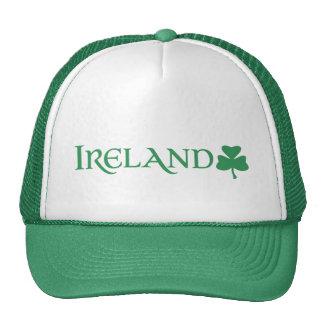 Orgullo del irlandés del símbolo del trébol de gorros bordados