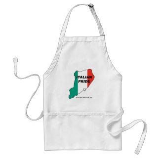 Orgullo del italiano de Staten Island Delantal