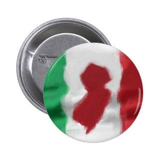 Orgullo del italiano del jersey pin redondo de 2 pulgadas