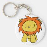 Orgullo del león llavero personalizado