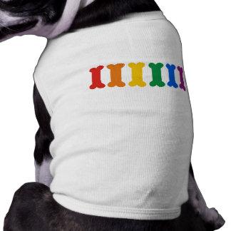 Orgullo del mascota playera sin mangas para perro