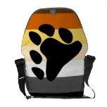 Orgullo del oso bolsa de mensajería