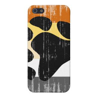 Orgullo del oso del vintage iPhone 5 fundas