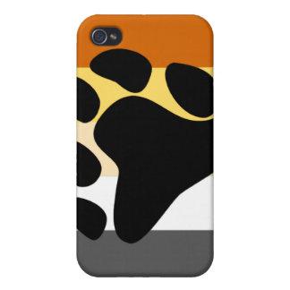 Orgullo del oso iPhone 4/4S fundas