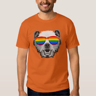 Orgullo del oso grizzly playeras