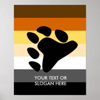 Orgullo del oso posters